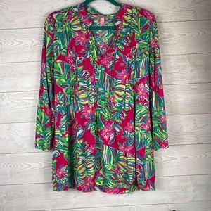 Lilly Pulitzer I Floral Tunic